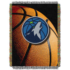 Timberwolves Photo Real Throw,