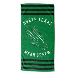 North Texas Stripes Beach Towel,