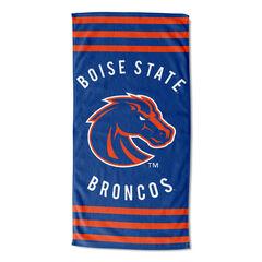 Boise State Stripes Beach Towel,