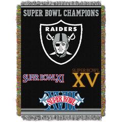 Raiders Commemorative Series Throw,