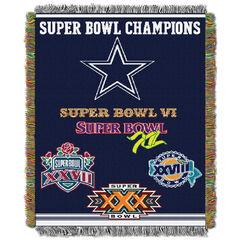 Cowboys Commemorative Series Throw,
