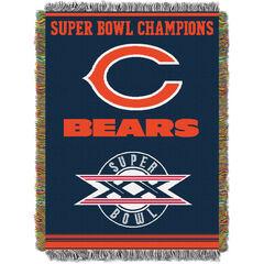 Bears Commemorative Series Throw,