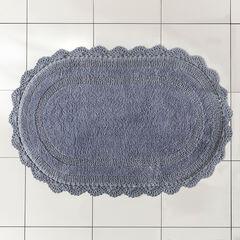 Oval Crochet Bath Rug,