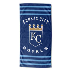 Royals Stripes Beach Towel,