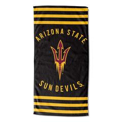 Arizona State Stripes Beach Towel,