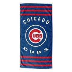 Cubs Stripes Beach Towel,
