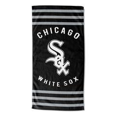 White Sox Stripes Beach Towel,