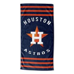 Astros Stripes Beach Towel,