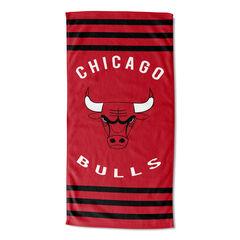 Bulls Stripes Beach Towel,