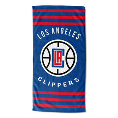Clippers Stripes Beach Towel,