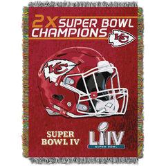 Chiefs Commemorative Series Throw,