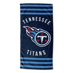 Titans Stripes Beach Towel,