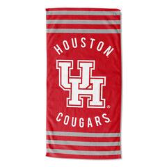 Houston Stripes Beach Towel,