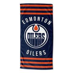 Oilers Stripes Beach Towel,