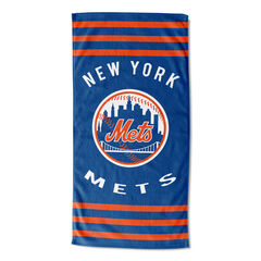 Mets Stripes Beach Towel,