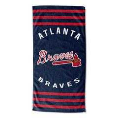 Braves Stripes Beach Towel,