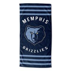 Grizzlies Sripes Beach Towel,