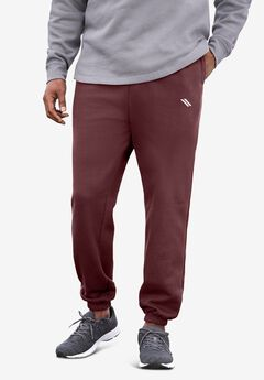 Wicking Fleece Elastic Cuff Pants by KS Sport™,