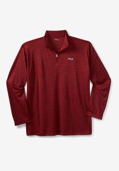 Fila® ¼ zip Pullover Jacket,