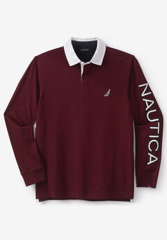 Nautica® Long-Sleeve Jersey Polo,