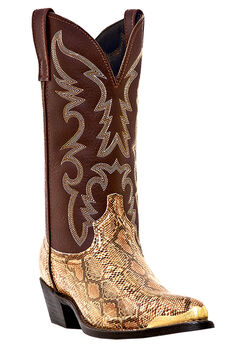 Laredo 12' Snake Print Boots,