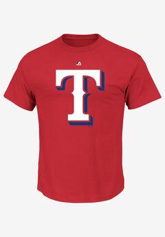 MLB® Logo Tee, TEXAS RANGERS