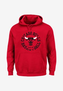 Mitchell & Ness® Throwback Logo Hoodie,