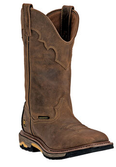 Dan Post Blayde 11' Shaft Distressed Steel Toe Boot,