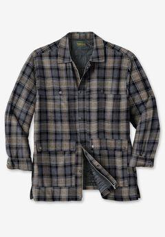 Renegade Shirt Jacket by Boulder Creek®, STEEL PLAID