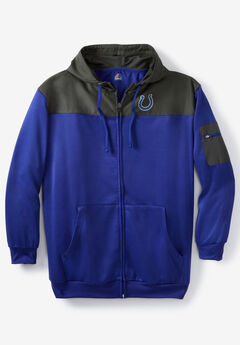 NFL® Mixed Media Full Zip Hoodie, INDIANAPOLIS COLTS