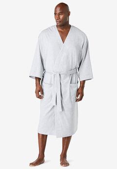 Cotton Jersey Robe,