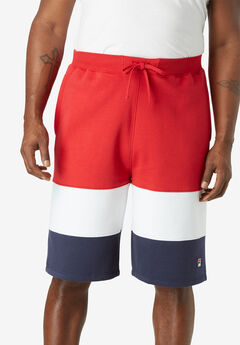 FILA® Colorblock Fleece Shorts,