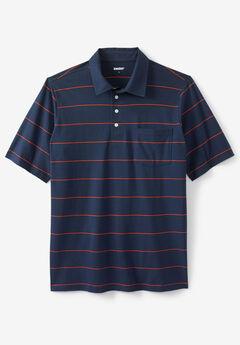 Performance Golf Polo , NAVY STRIPE