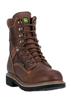 "John Deere® 8"" All Around Waterproof Soft Toe,"