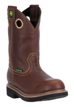 "John Deere® 11"" All Around Waterproof Pull-On Soft Toe,"