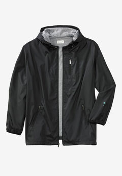 Jersey-Lined Windbreaker,