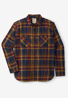 Levi's® Plaid Flannel Shirt,