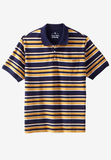 a10d0c6e328 Liberty Blues® Pocket Piqué Polo Shirt