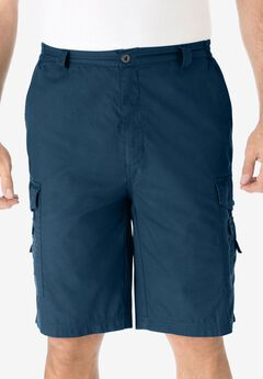 "10"" Cargo Shorts, NAVY"