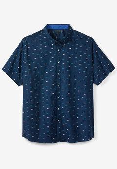 Nanotex® Coolest Comfort Active Stretch Woven Shirt by Nautica®,