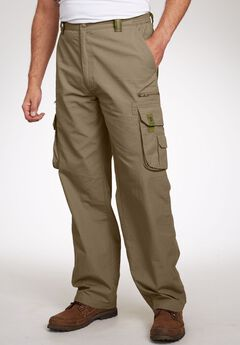 Boulder Creek® Ripstop Cargo Pants, DARK KHAKI