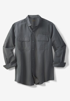 Off-Shore Long-Sleeve Sport Shirt by Boulder Creek®,