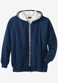Boulder Creek® Full-Zip Thermal Hoodie, NAVY
