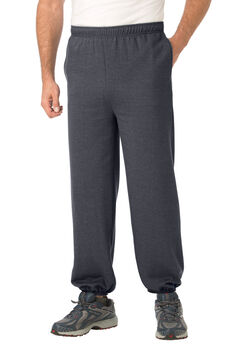 Fleece Elastic Cuff Sweatpants,