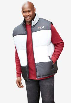 FILA® Color Block Puffer Vest,