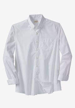 Comfort Flex Long-Sleeve No Wrinkle Shirt by Dockers®, WHITE