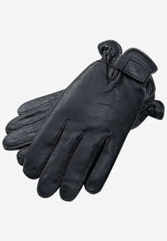 Adjustable Dress Gloves, BLACK