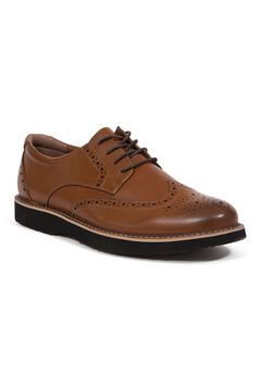Deer Stags® Walkmaster Wingtip Oxford Shoes with S.U.P.R.O 2.0 Memory Foam,