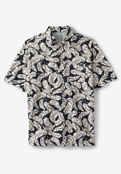 Floral Polo by KS Island™, STONE PALM