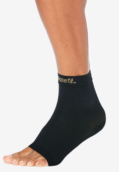 Compression Ankle Sleeve by Copper Fit™, BLACK
